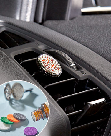 Car Vent Aromatherapy Diffusers or 100-Pc. Felt Pads