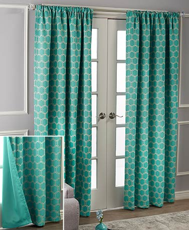 Reversible Blackout Curtain