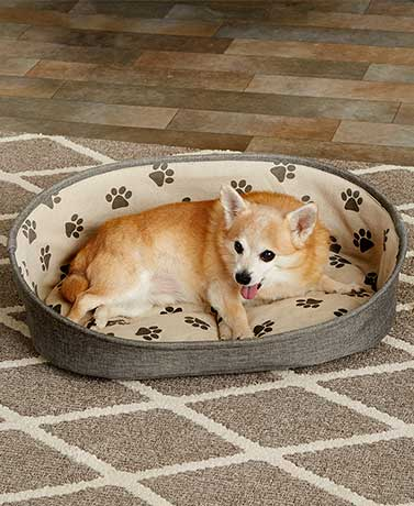 Classic Printed Pet Beds