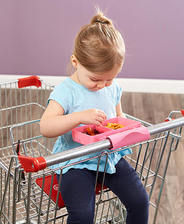 Snap and Shop® Shopping Cart Snack Trays