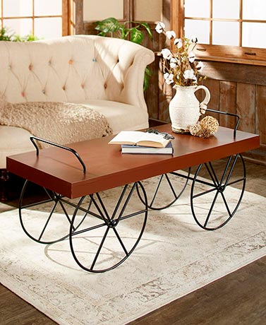 Decorative Cart-Style Coffee Tables