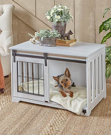 Barn Door Pet Crates