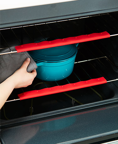 Set of 2 Silicone Oven Rack Guards