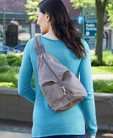 Convertible Canvas Sling Bags