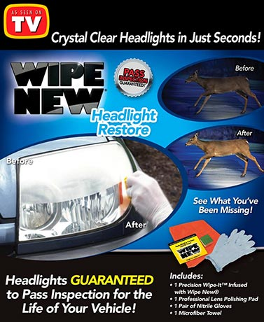 Wipe New® Headlight Restore