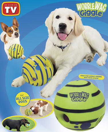 Wobble Wag Giggle® Dog Toy