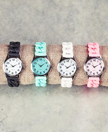 Silicone S-T-R-E-T-C-H Watches