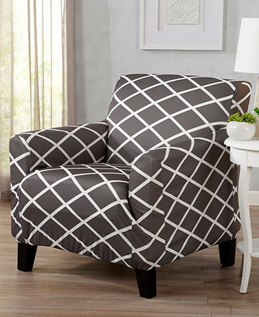 Diamond Stretch Slipcovers