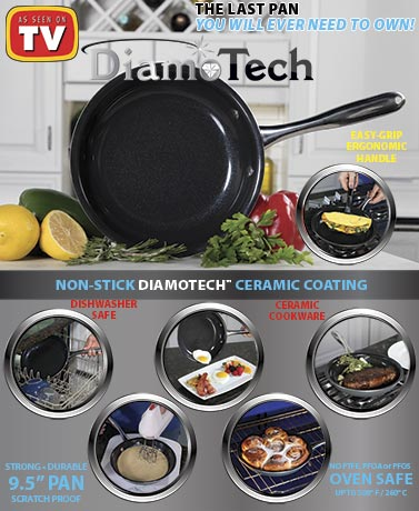 "Diamo Tech 9-12"" Pan"