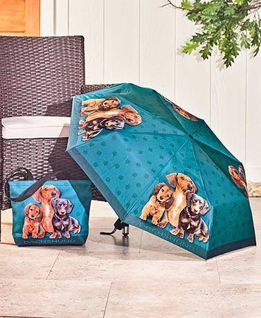 Dog Breed Umbrellas or Totes