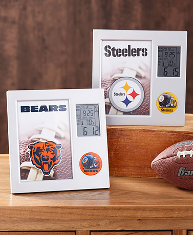 NFL Digital Desk Clocks