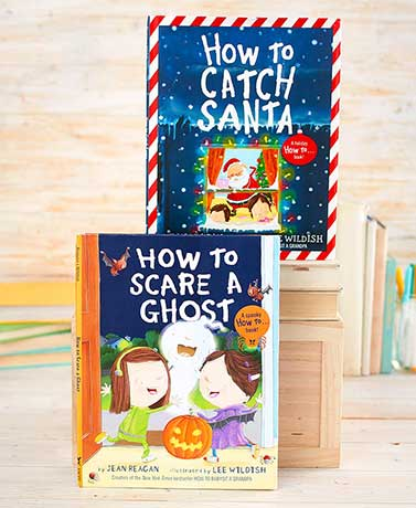 How to Catch Santa or Scare a Ghost Books