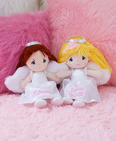 Personalized Precious Moments Angel Dolls