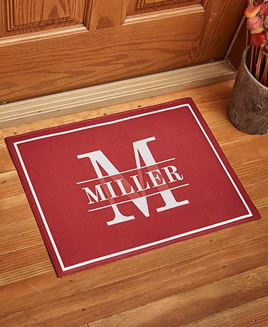 Personalized Monogram Doormats