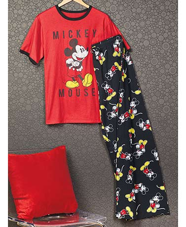 Mickey Vintage Tee and Lounge Pant Set