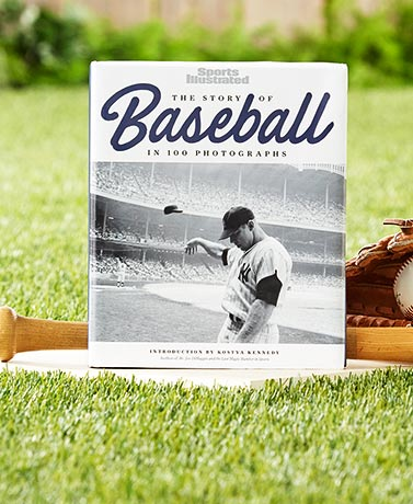The Story of Baseball in 100 Photos Book