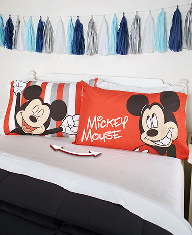 Licensed Character Reversible Pillowcases