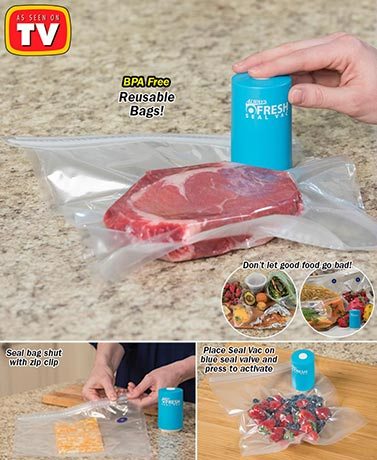Always Fresh Seal Vac System or Bag Set