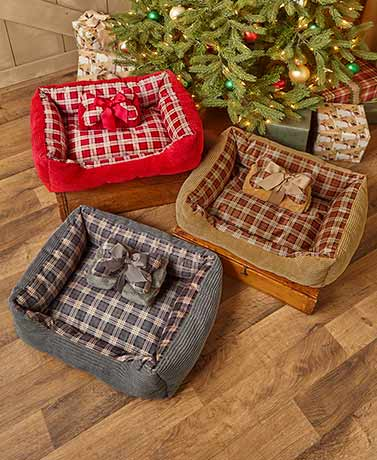 3-Pc. Pet Bed Gift Sets