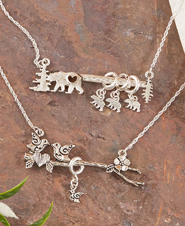 Mama Bear or Lovebirds Jewelry Collection
