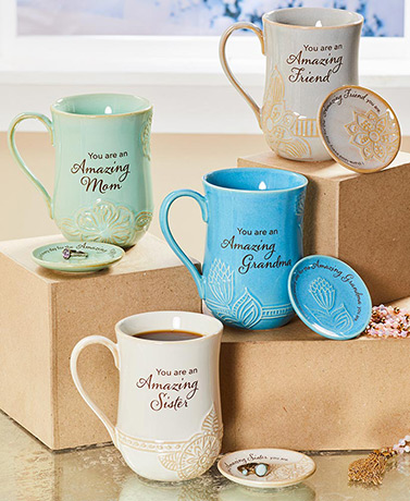 Amazing Woman Mug and Trinket Dish Sets