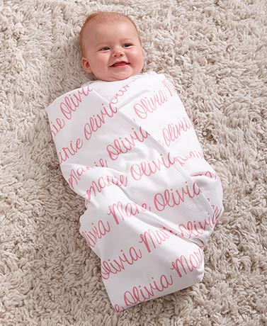 Personalized Fleece Baby Blankets