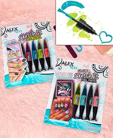 Alex® Sketch It Nail Pens™
