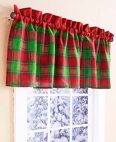 Home for the Holidays Valance