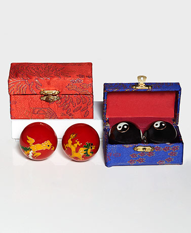 Gift-Boxed Sets of 2 Chinese Health Balls