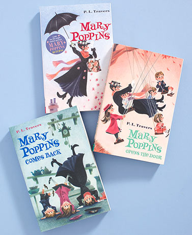 Mary Poppins 3-Book Set