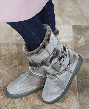Women's Velvet Winter Boots
