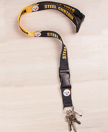 NFL Slogan Lanyards