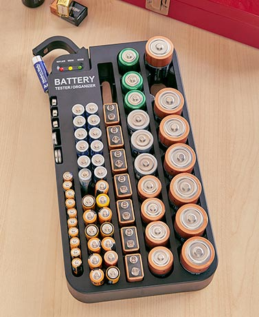 Battery Tester and Organizer