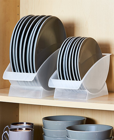 Vertical Plate Racks for Cabinet