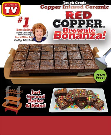 Red Copper™ Brownie Bonanza