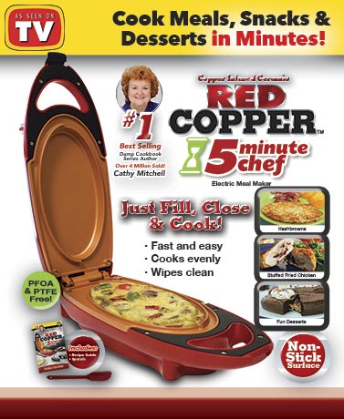 Red Copper™ 5 Minute Chef