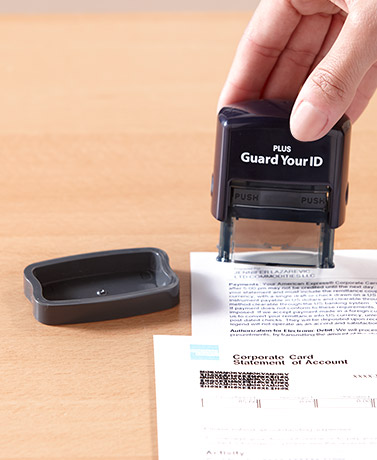 Guard Your ID Stamp
