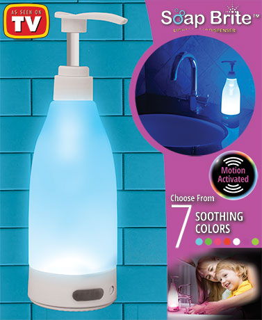 Soap Brite® Soap Dispenser Night Light