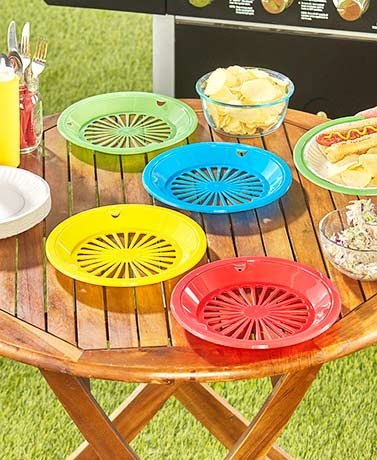 Set of 8 Paper Plate Holders