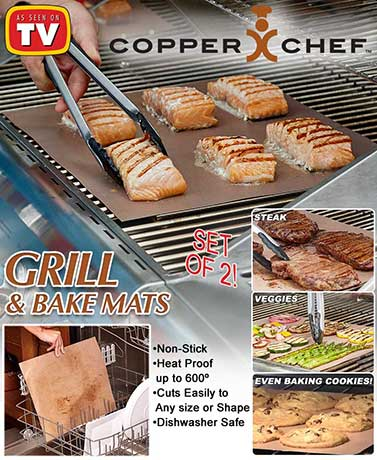 Copper Chef™ Grill & Bake Mats
