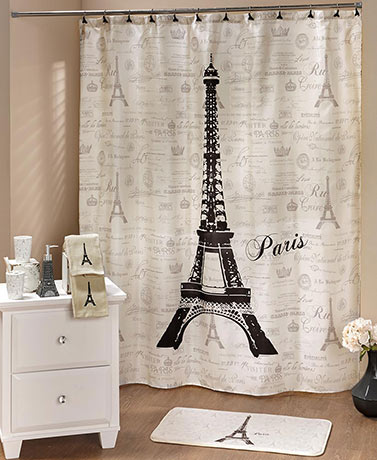 Paris Bathroom Decor Collection