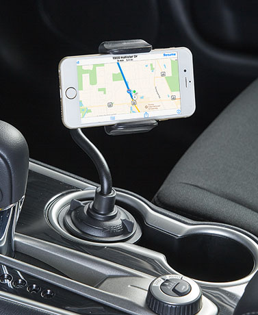 Universal Grip Cup Holder Phone Mounts