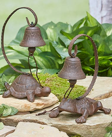Cast Iron Garden Bells