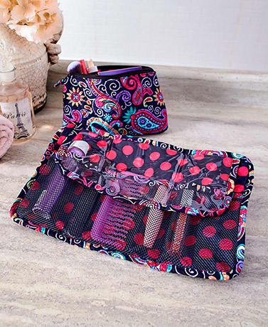 2-Pc. Cosmetic Organizer Bag Sets