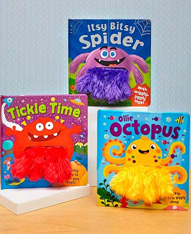 Wiggly Fingers Kids' Books