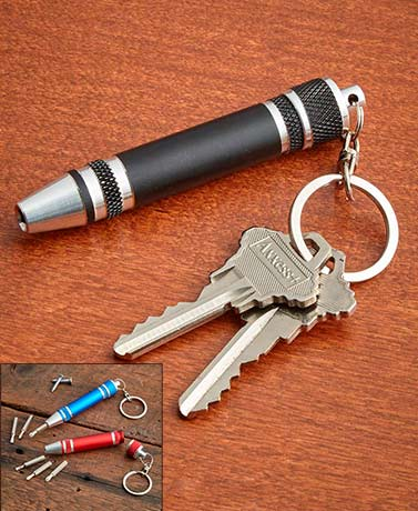 Sets of 2 Mini Screwdriver Keychains