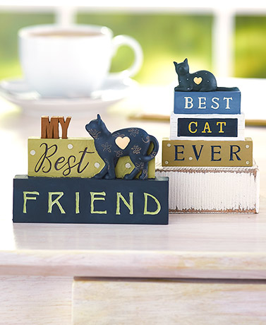 Best Cat Block Figurines