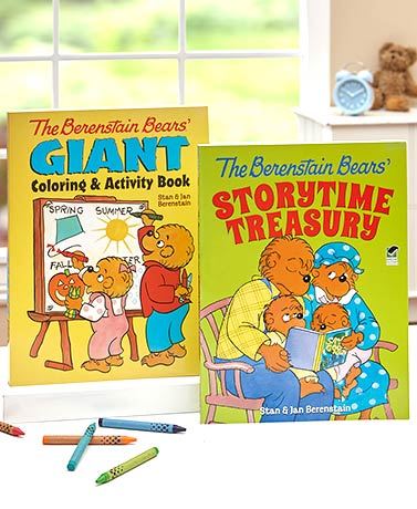 The Berenstain Bears Activity or Story Books