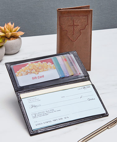 Inspirational Checkbook Wallets