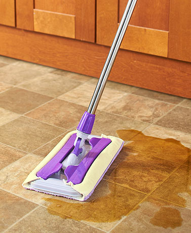 360 Degree Rotating Mop or Replacement Cloths
